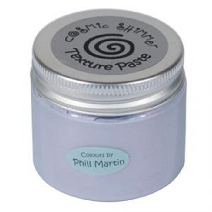 Cosmic Shimmer Pearl Texture Paste  50ml Pot  - Chic Viola