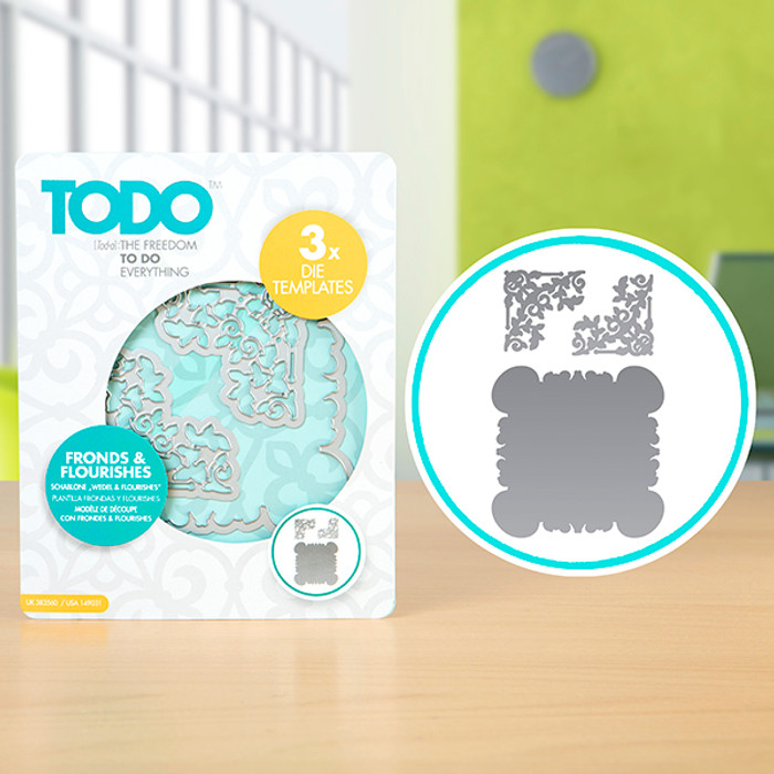 TODO Dies - Fronds and Flourishes CNCP0541