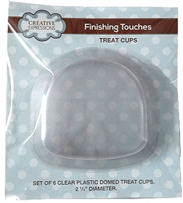 Sue Wilson Finishing Touches DOMED Treat Cups Set of 6 CETREATDOME