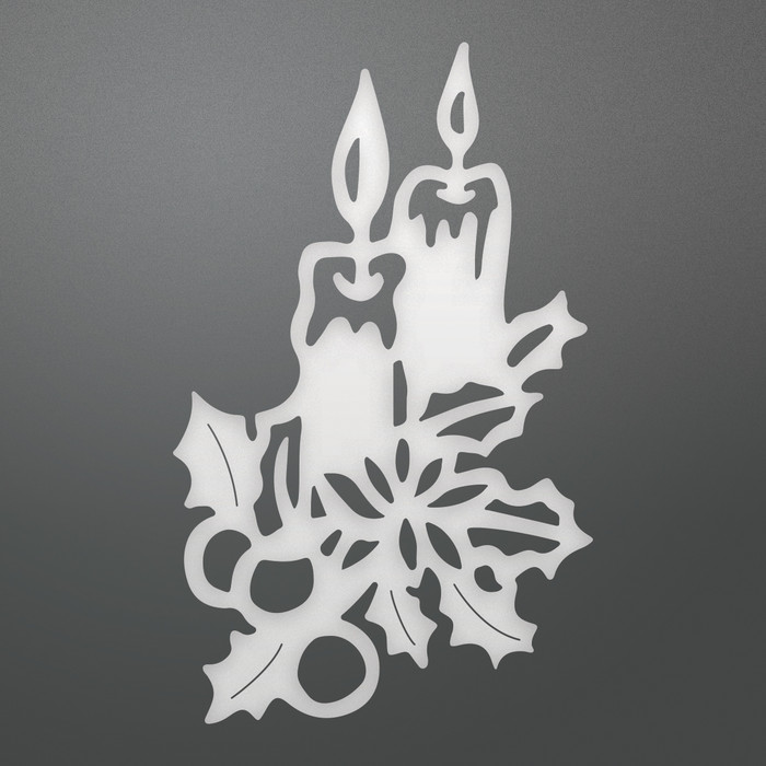 Couture Creations Glowing Candles Decorative Die
