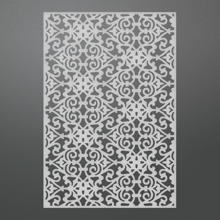 Couture Creations Christmas Baroque Background Decorative Die CO725515