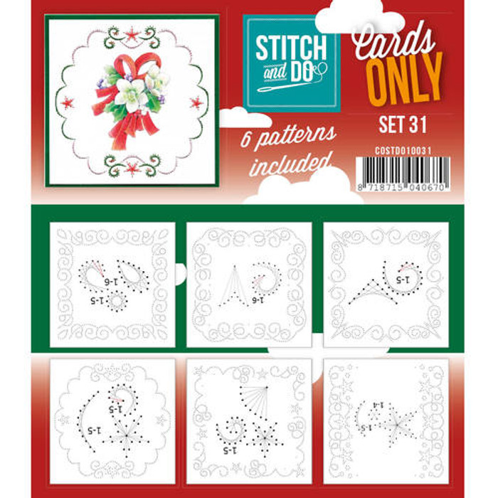 Stitch and Do Card Stitching Cardlayers Only - Set 31