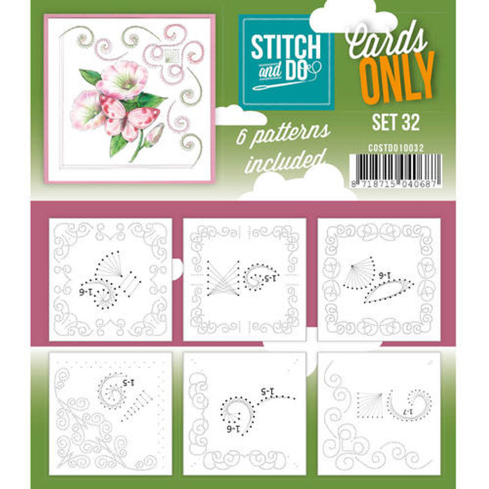 Stitch and Do Card Stitching Cardlayers Only - Set 32