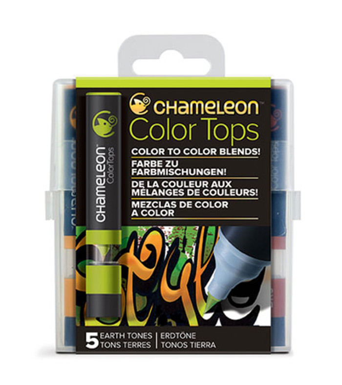 Chameleon 5 Color Tops EARTH TONES Set (CT4503UK)
