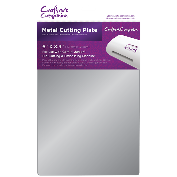 Crafter's Companion Gemini Junior - Metal Cutting Plate