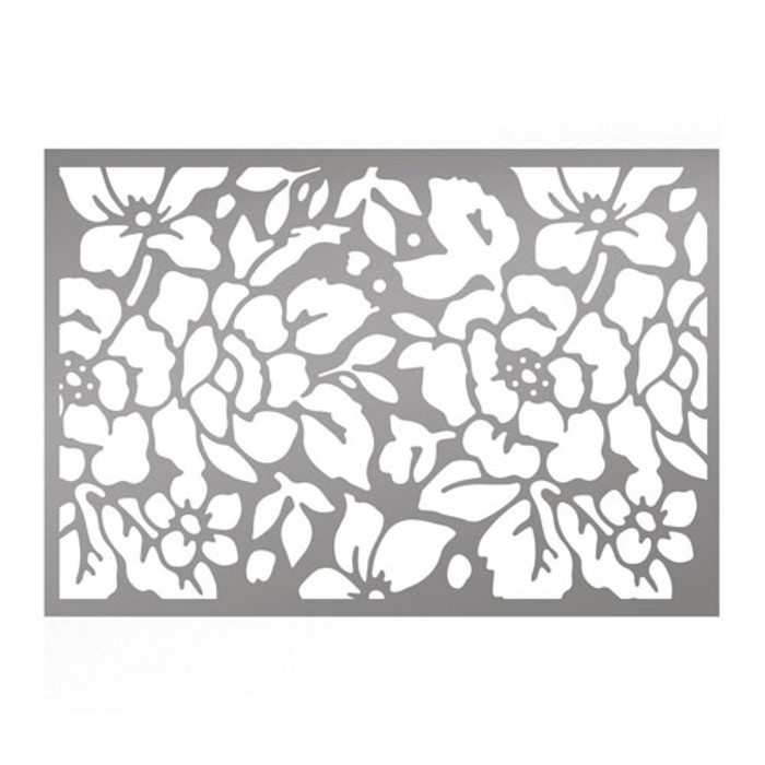 Couture Creations Rosy Background Stencil