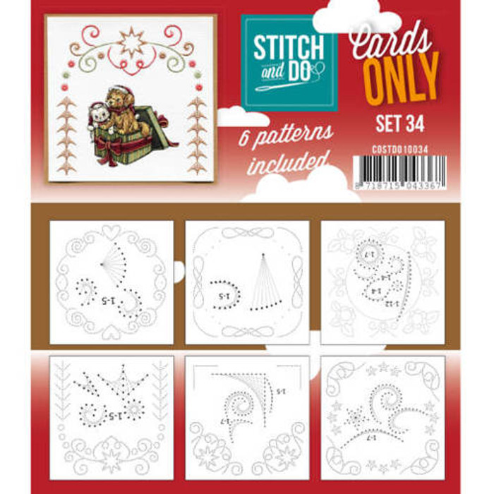 Stitch and Do Card Stitching Cardlayers Only - Set 34 (COSTDO10034)