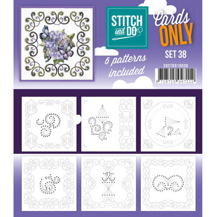 Stitch and Do Card Stitching Cardlayers Only - Set 38