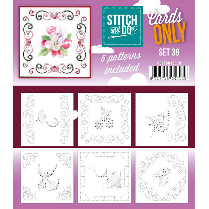 Stitch and Do Card Stitching Cardlayers Only - Set 39