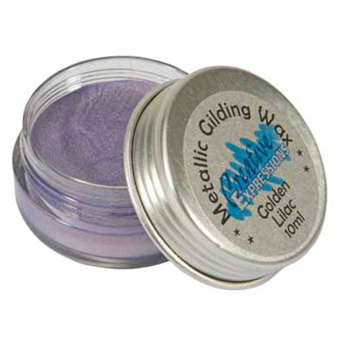 Creative Expressions Gilding Wax 10ml - GOLDEN LILAC