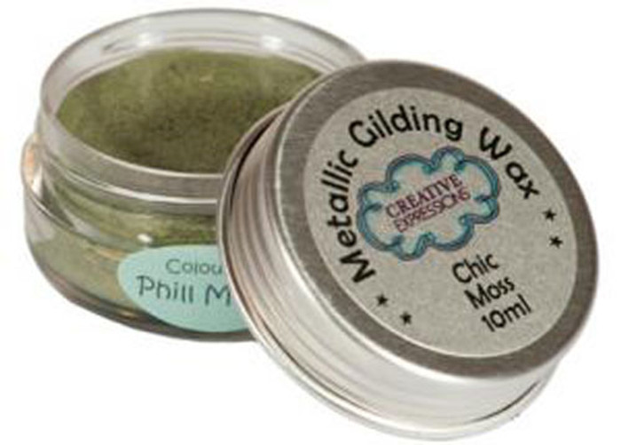 Creative Expressions Gilding Wax 10ml - CHIC MOSS