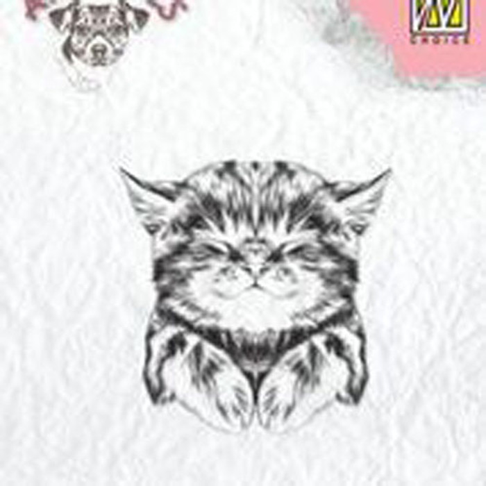 Nellie Snellen Animals Clear Stamp - Pussy Cat ANI017