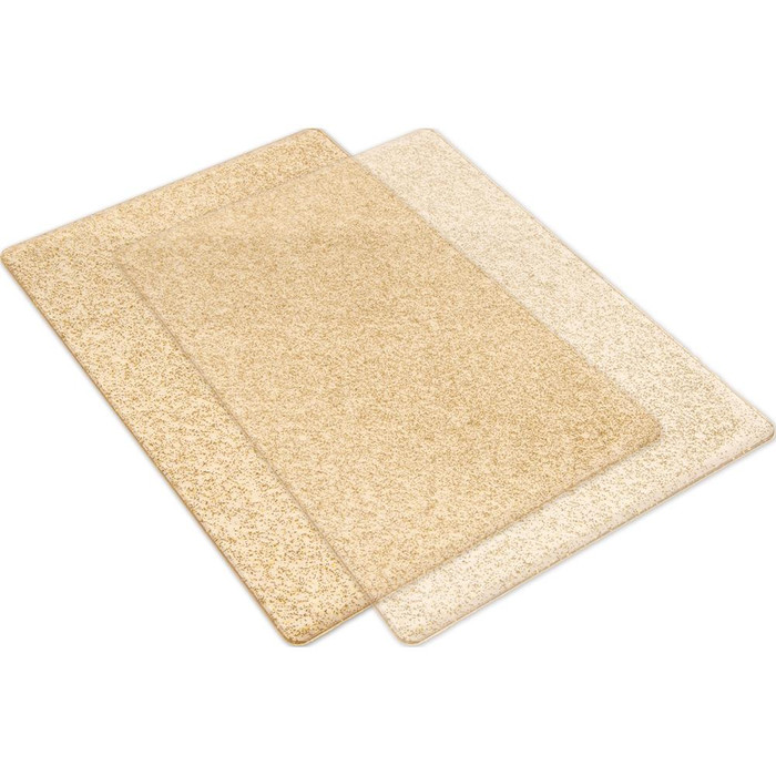 Big Shot Standard Cutting Pads 1 Pair - Clear with Gold Sparkle