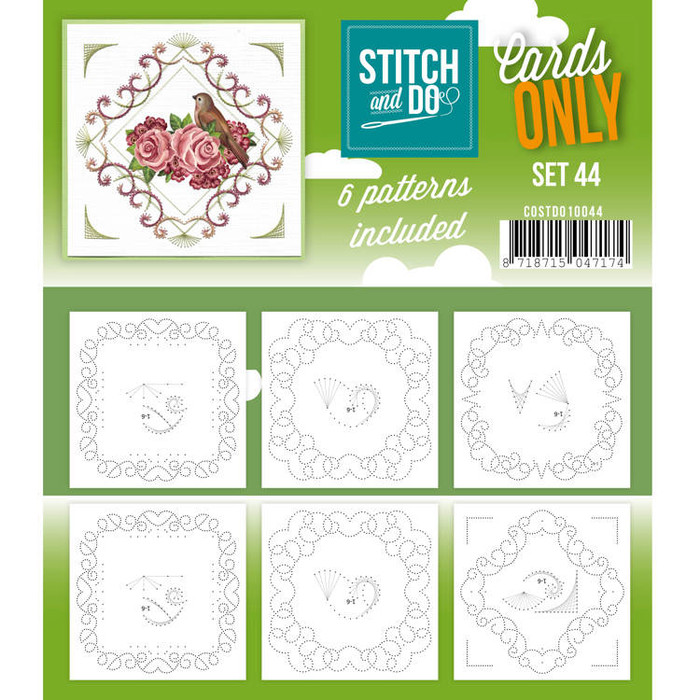 Stitch and Do Card Stitching Cardlayers Only - Set 44