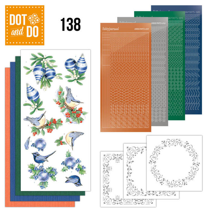 Dot and Do Kit #138 - Blue Christmas