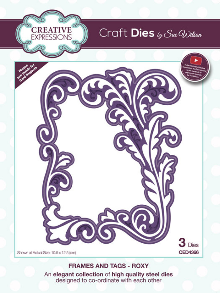 Sue Wilson Frames & Tags Collection Die - Roxy CED4366