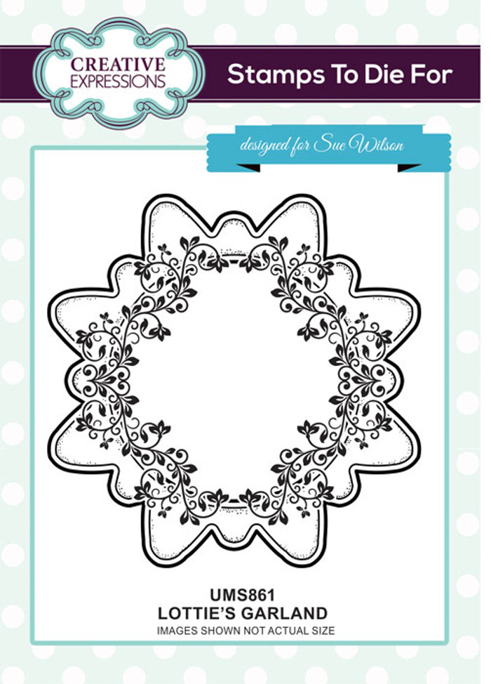 Sue Wilson Stamps To Die For - LOTTIE'S GARLAND UMS861