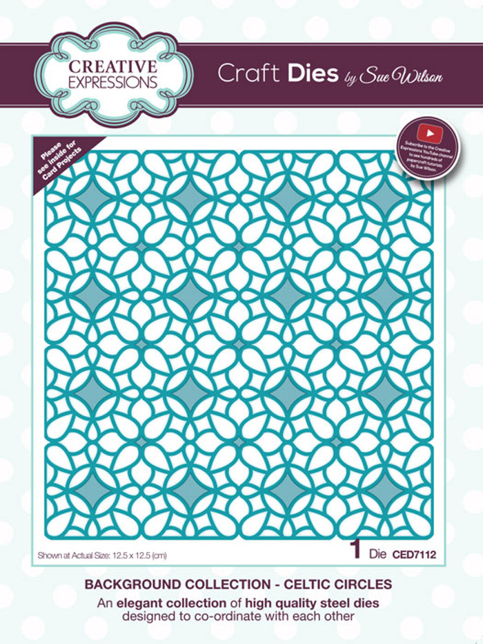 Sue Wilson Background Collection - Celtic Circle CED7112