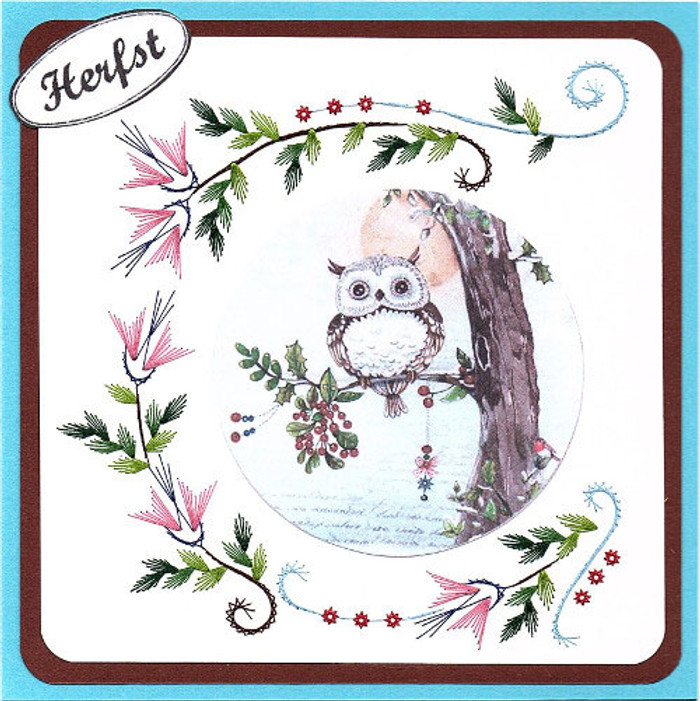Karin's Creations Card Stitching e-Pattern KC228e