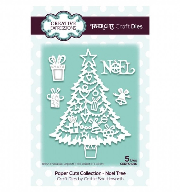 Creative Expressions Paper Cuts Collection Die - Noel Tree CEDPC1045