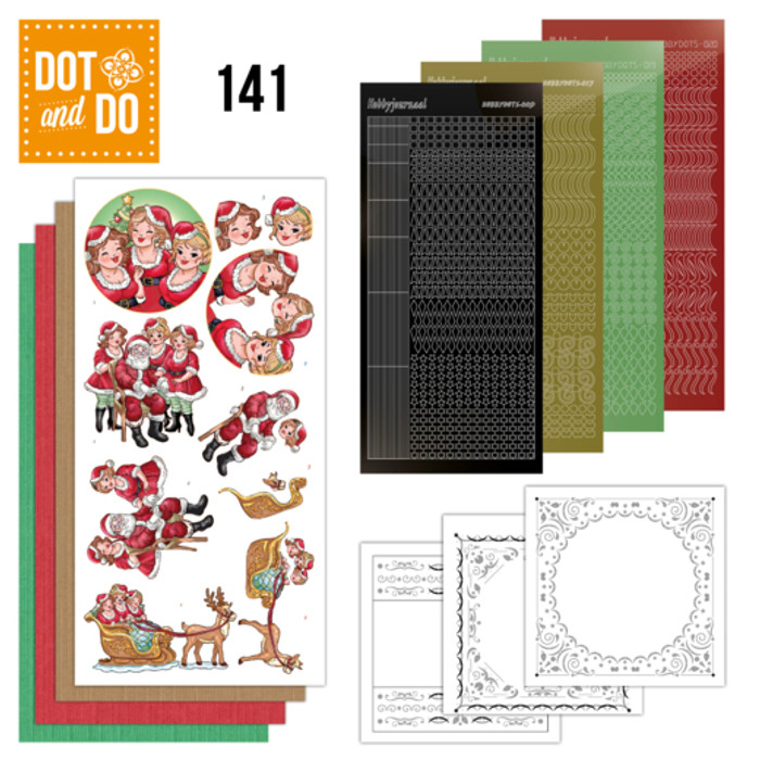 Dot and Do Kit #141 - Bubbly Girls Christmas