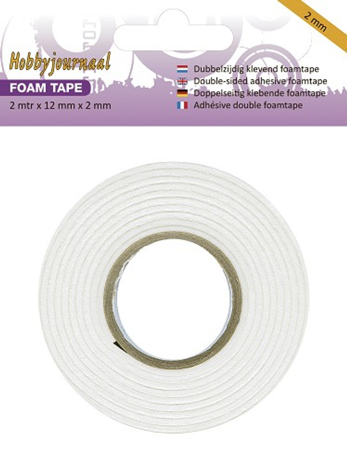 Hobbyjournaal 3D Foam Tape - 2mm