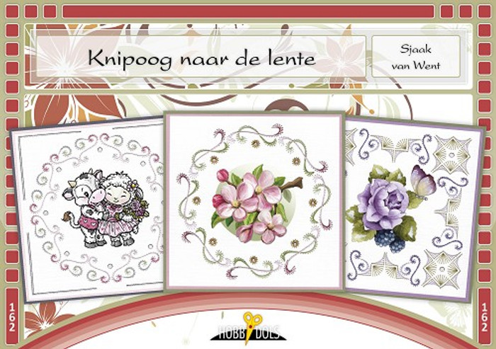 Hobbydols 162 - Knipoog naar de Lente (Wink to Spring) (Dutch Language)