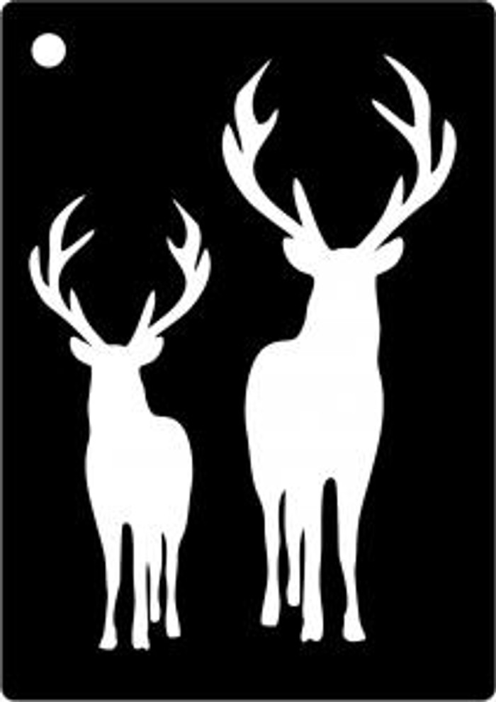 Creative Expressions Mini Stencil STAGS