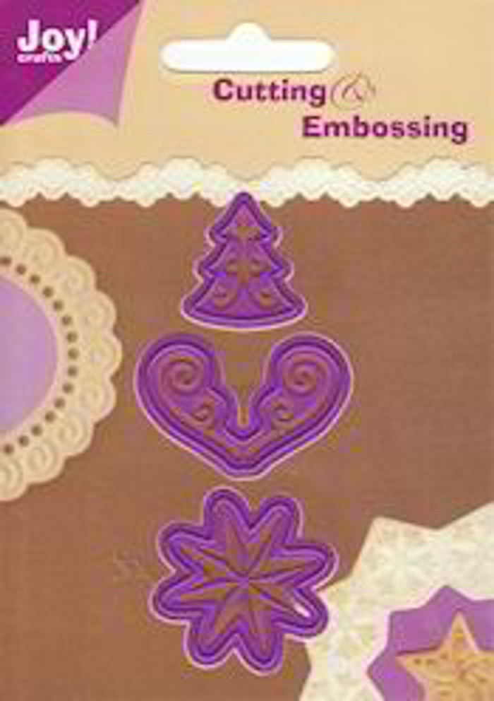 Joy! Crafts Cutting & Embossing Stencil - Assorted Shapes 17