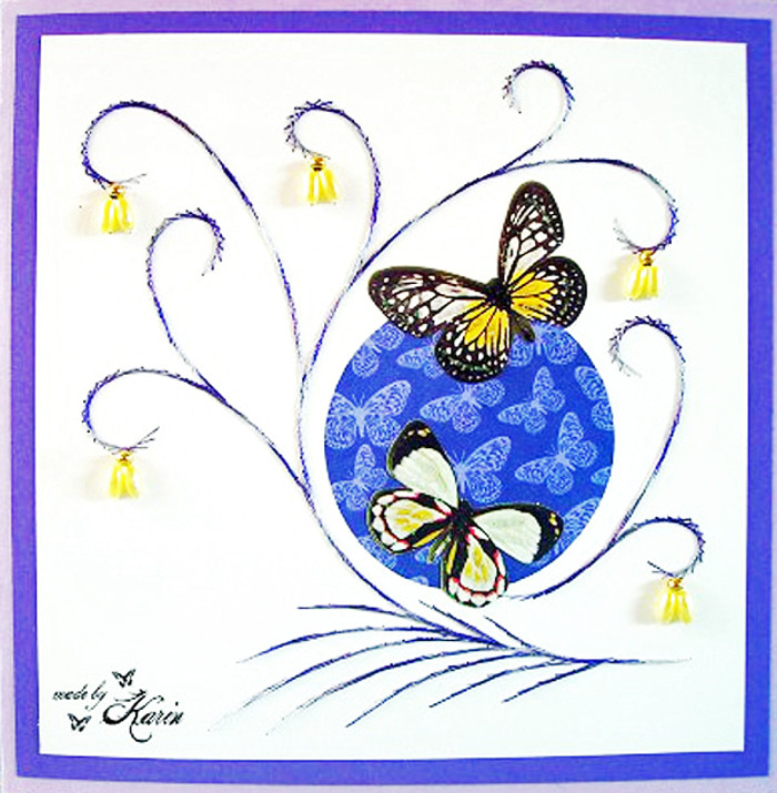 Karin's Creations Card Stitching E-Pattern - Majestic KC002e