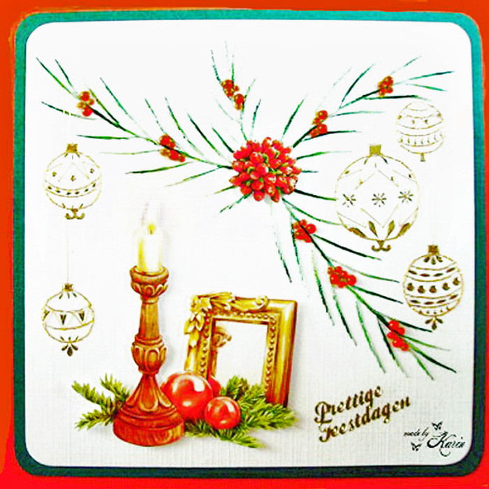 Karin's Creations Card Stitching e-Pattern - Reflection KC022e