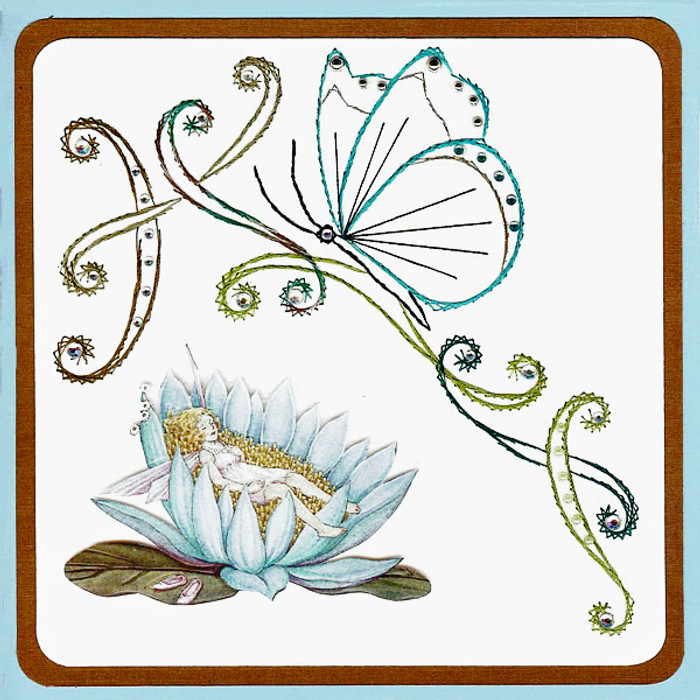 Karin's Creations Card Stitching e-Pattern -   Symphony KC040e