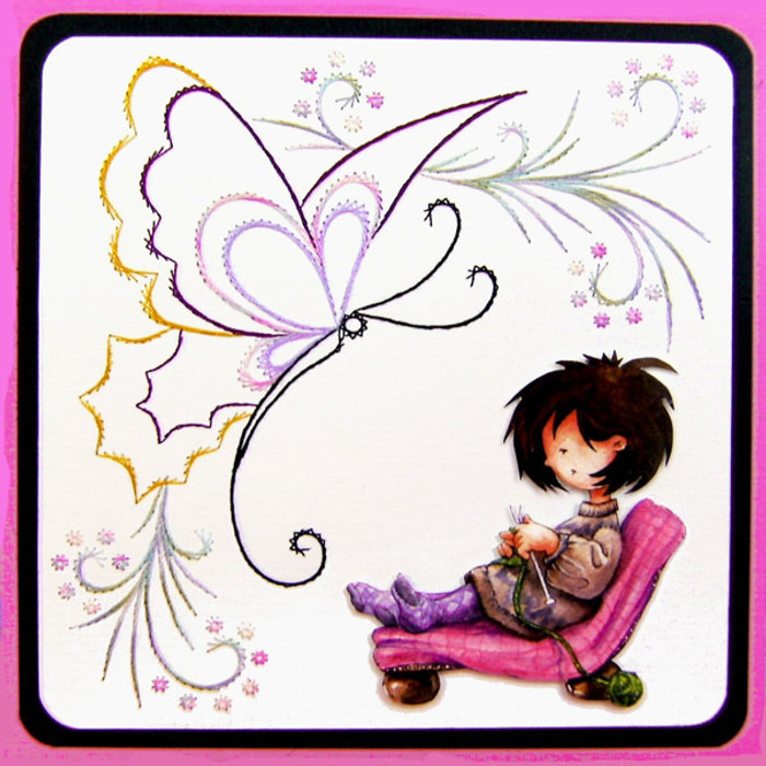 Karin's Creations Card Stitching e-Pattern - KC062e