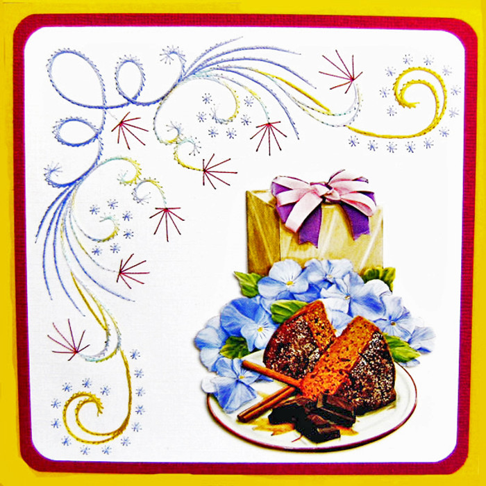 Karin's Creations Card Stitching e-Pattern - KC059e