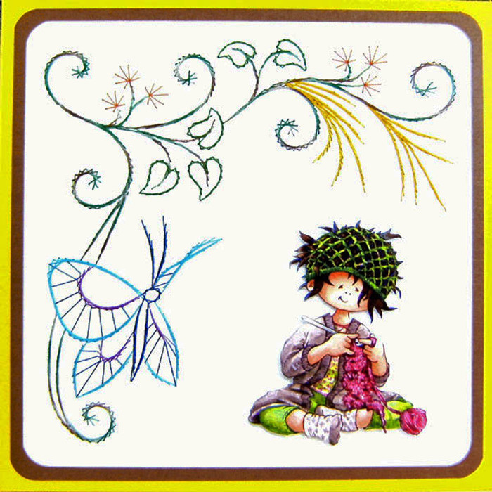 Karin's Creations Card Stitching e-Pattern - KC064e