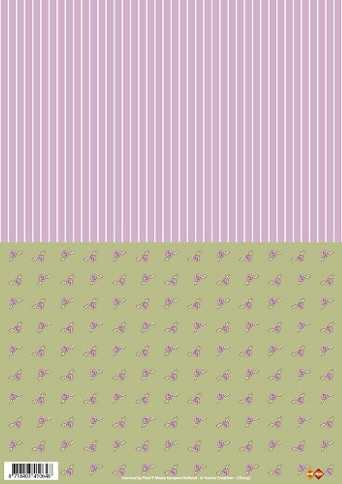 3D Sheet Yvonne Creations - Background CD10157