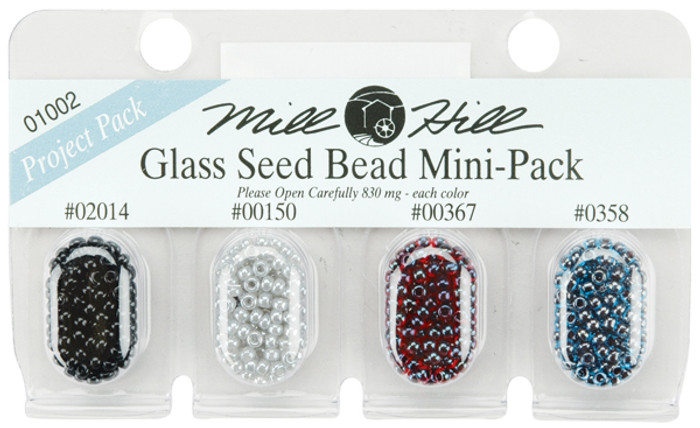 Mill Hill Glass Seed Bead Mini-Pack - 01002
