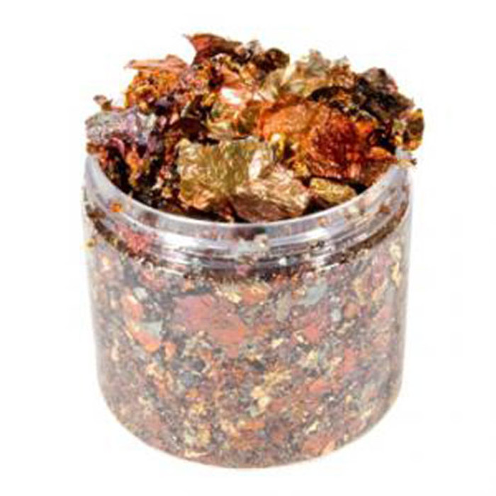 Cosmic Shimmer Gilding Flakes 200ml Pot - MULLED WINE