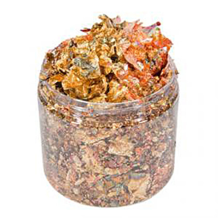 Cosmic Shimmer Gilding Flakes 200ml Pot - AUTUMN LEAVES