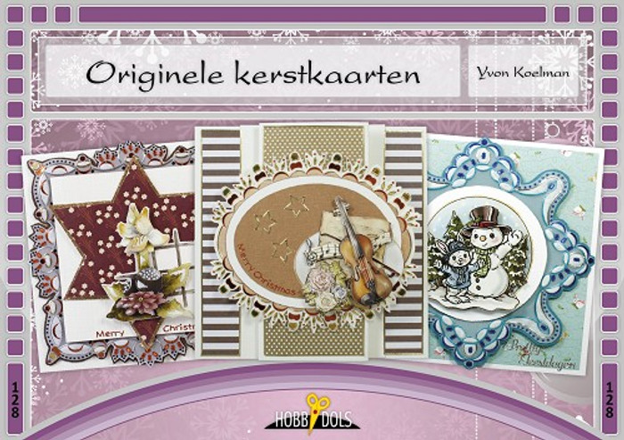 Hobbydols 128 - Originele Kerstkaarten (Original Christmas Cards) (Dutch Language)
