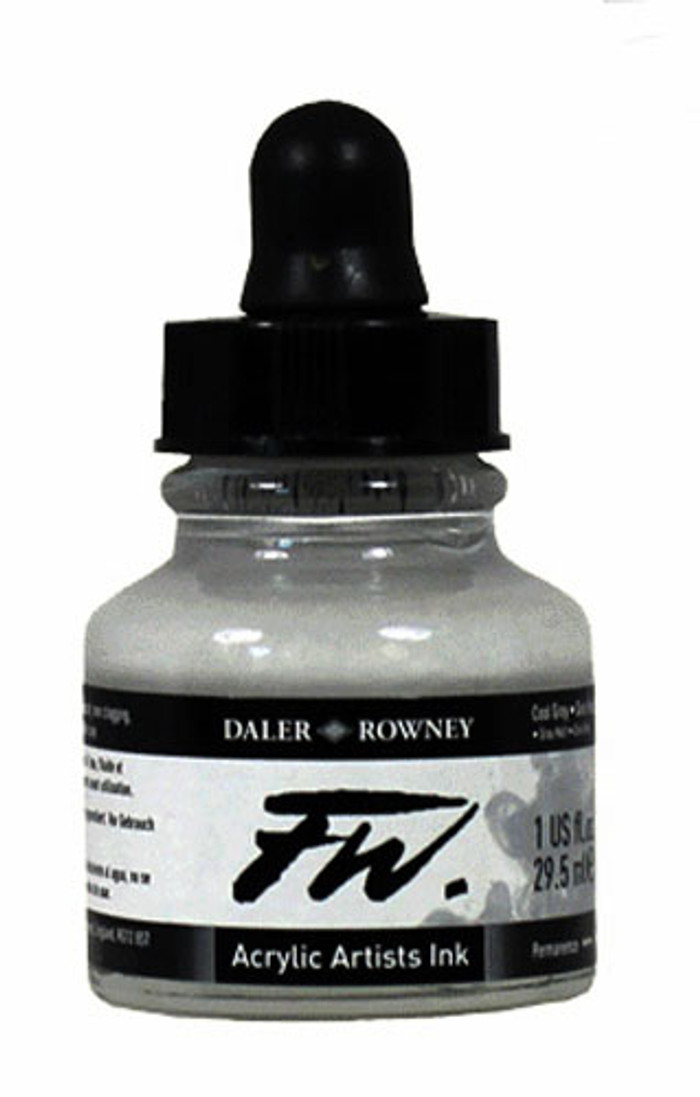 FW Artists Ink 30ml - SILVER