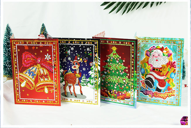 5D Diamond Painting Crystal Cards