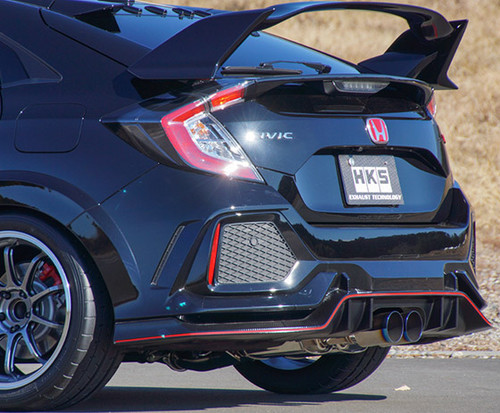 2017+ HONDA CIVIC TYPE R HKS LEGAMAX PREMIUM CIVIC TYPE-R FK 2.0L US