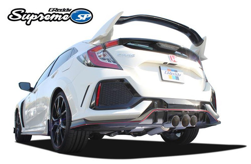 2017+ HONDA CIVIC TYPE R GREDDY SUPREME SP EXHAUST; 3-TIP VERSION