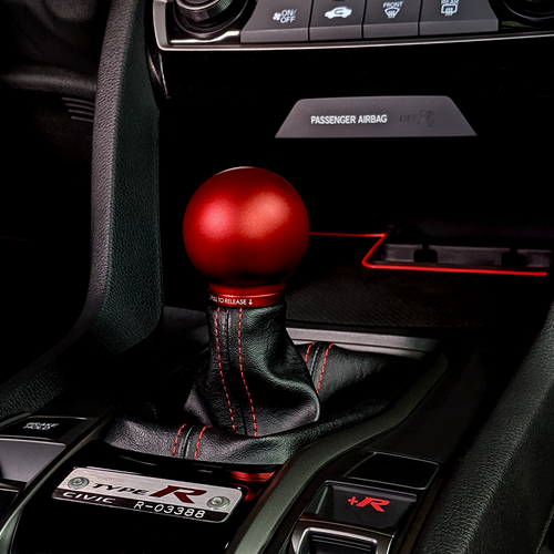 Acuity  POCO Low-Profile Shift Knob Red