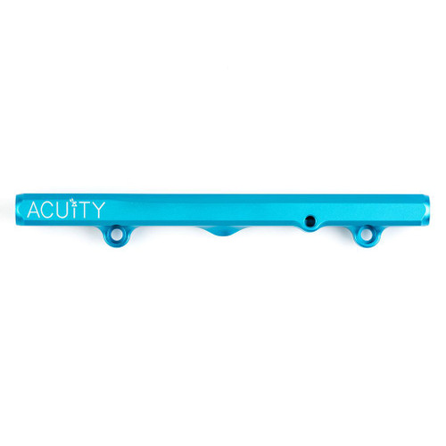 Acuity K-Series Fuel Rail in Satin Teal Finish