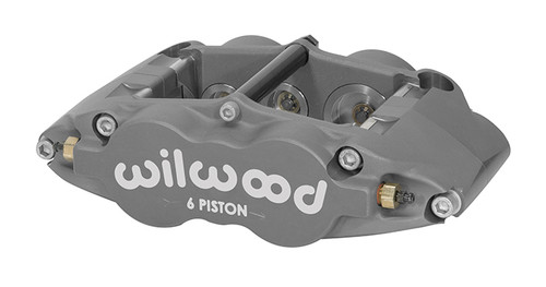 "2004-2008 ACURA TSX  FASTBRAKES STREET/ADVANCED TRACK 12.9"" BRAKE KIT WILWOOD 6 POT CALIPERS W/ SLOTTED 2 PIECE ROTORS"