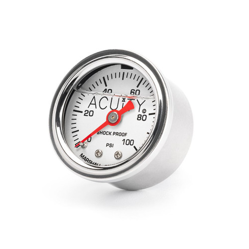 ACUiTY 100 PSI Fuel Pressure Gauge