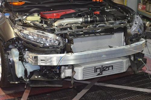 Injen Bar & Plate Front Mount Intercooler 2017-2020 Honda Civic Type-R