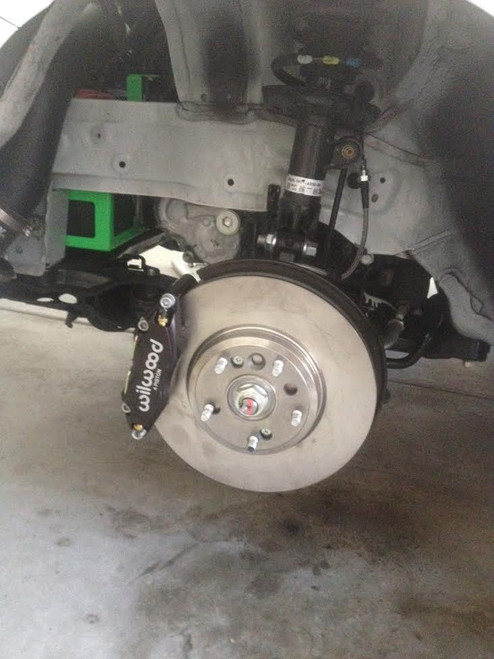 "Axion Industries Drag/Street 11.6"" Brake kit Wilwood 4 pot calipers"